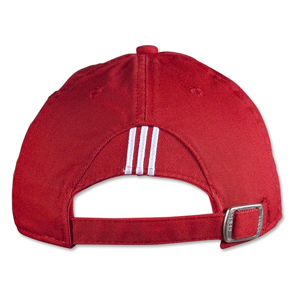 adidas PL Adjustable Washed Cap (Red)