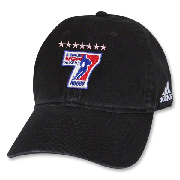 adidas USA Sevens Washed Cap (Black)