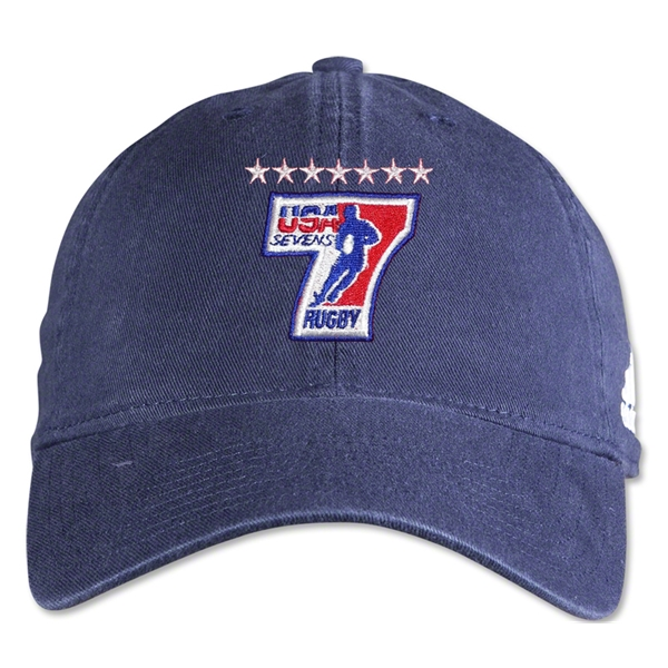 adidas USA Sevens Washed Cap (Navy)