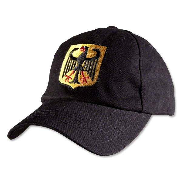 Germany Eagle Adjustable Hat (Black)