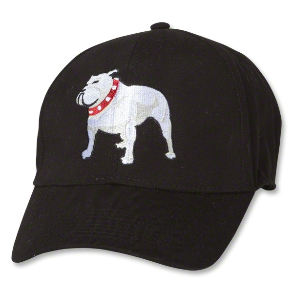 England Bulldog Flex-Fit Hat (Black)