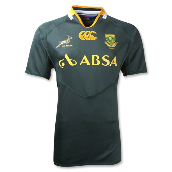 South Africa Springboks Pro Home Rugby Jersey