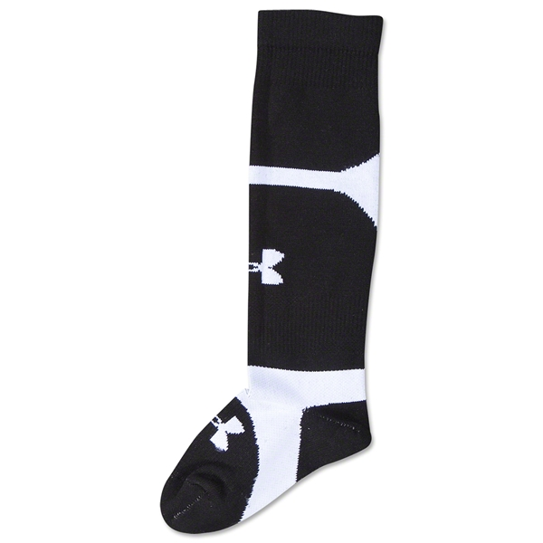 Under Armour Dominate Youth Socks (Black)
