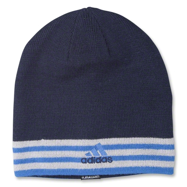 adidas The Crossing Reversible Beanie (Navy/Royal)