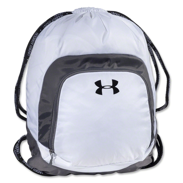 Under Armour Victory Sackpack (White/Gray)