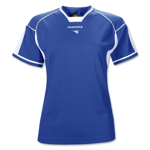 Diadora Women's Quadro Jersey (Royal)