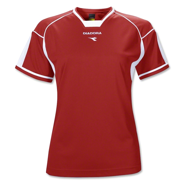 Diadora Women's Quadro Jersey (Red)