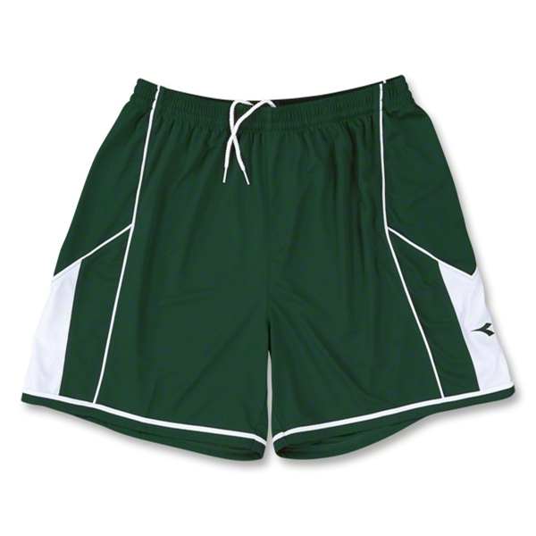 Diadora Women's Quadro Short (Dark Green)