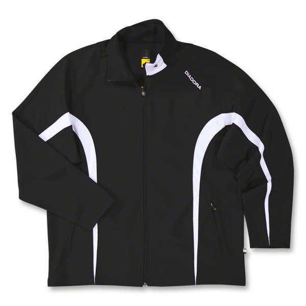 Diadora Team Ermano Soccer Jacket (Black)