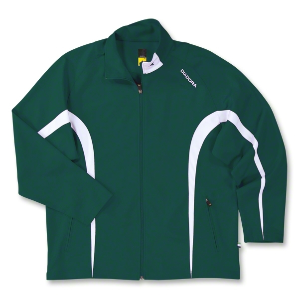 Diadora Team Ermano Soccer Jacket (Dark Green)