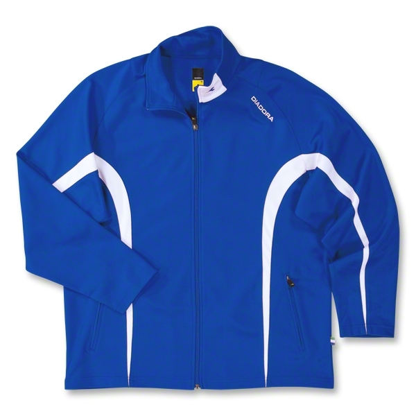 Diadora Team Ermano Soccer Jacket (Royal)