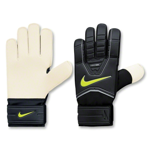 Nike GK Classic Goalkeeper Gloves (Black/Volt)