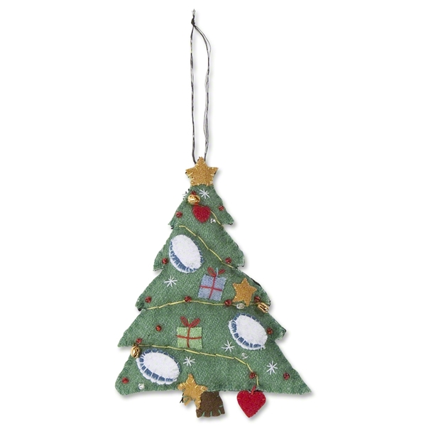 Rugby Christmas Tree Ornament