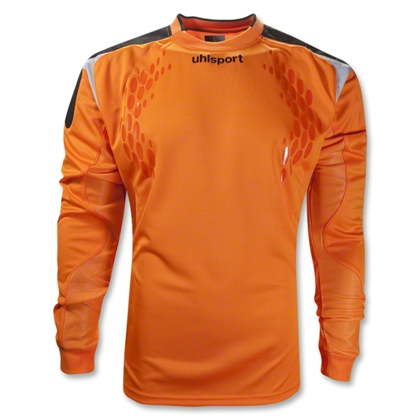 Uhlsport Towart Tech Long Sleeve Goalkeeper Jersey (Orange)