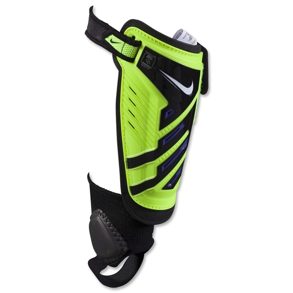 Nike Youth Protegga Shield Shinguard (Volt/Purple)