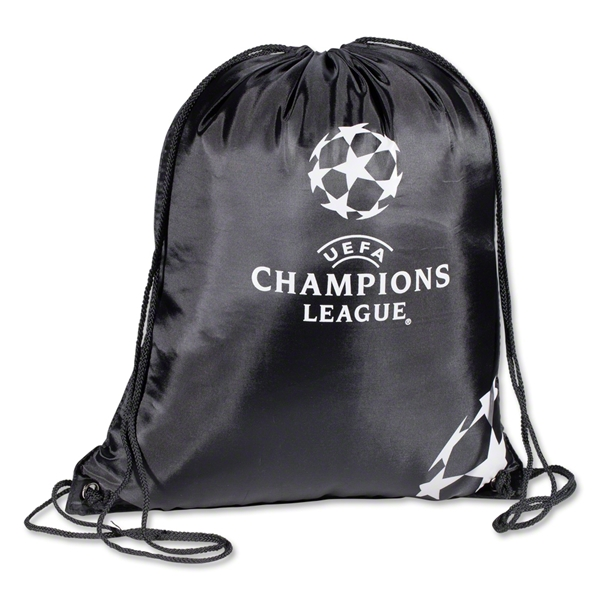 UEFA Champion's League Printed Gymsack (Black)