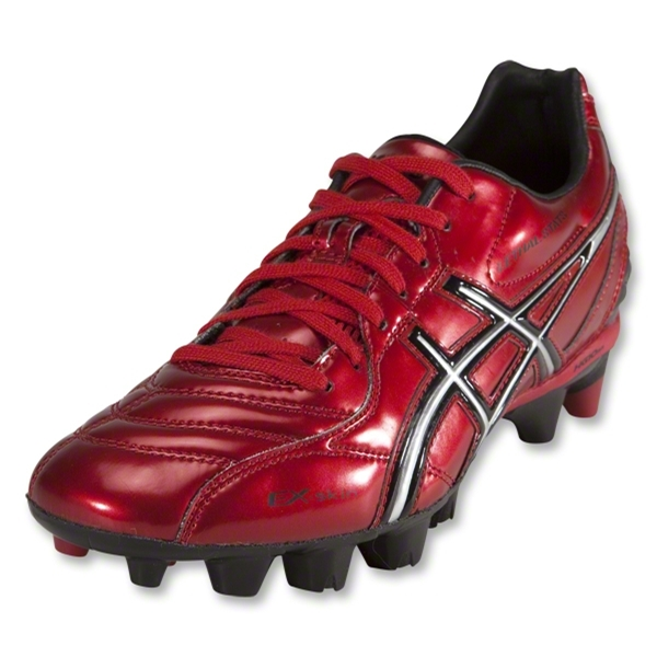 Asics Lethal Stats SK Cleats (Red/Silver)