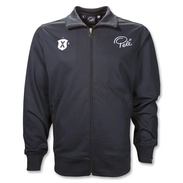 Pele Soccer Jacket (Black)