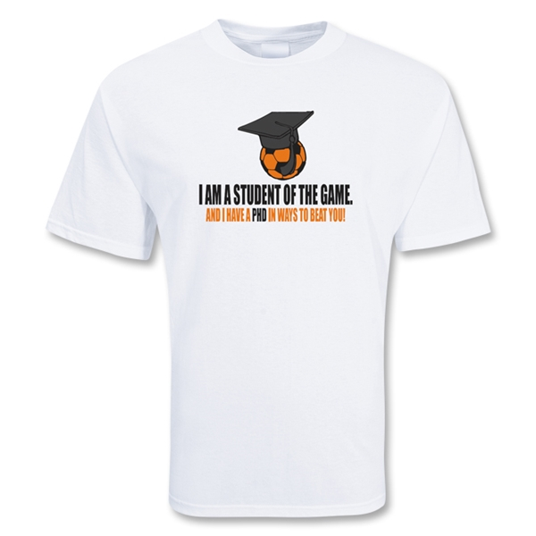 Student of the Game Soccer T-Shirt (White)