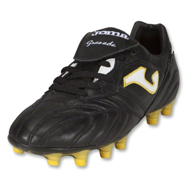 Joma Granada Soccer Shoes (Black/Yellow)