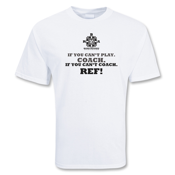 Coach/Ref Soccer T-Shirt (White)
