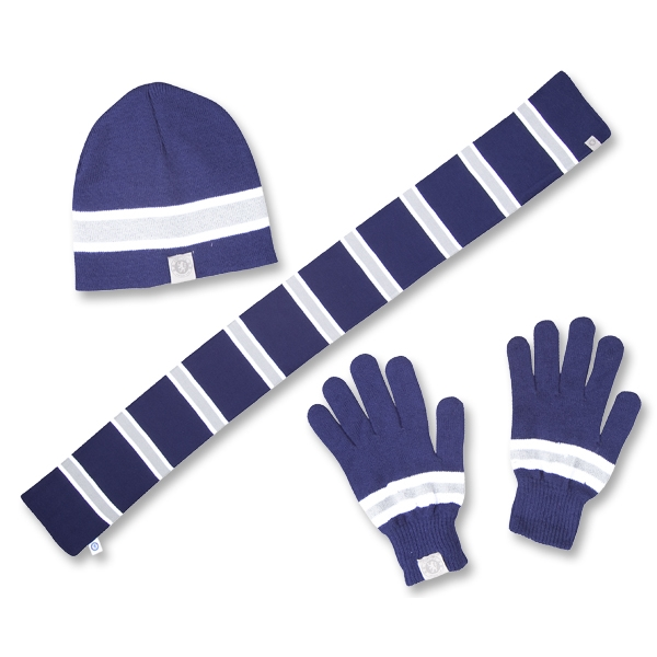 Chelsea Men's Knit Hat/Scarf/Glove Set