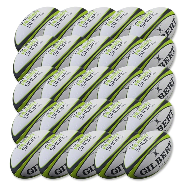 Gilbert WRS A-XV Training Rugby Team Ball (25 pack)