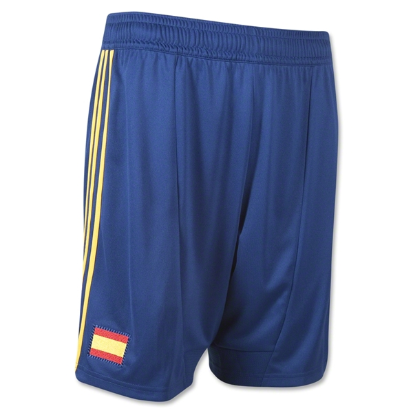 Spain 11/13 Home Soccer Shorts