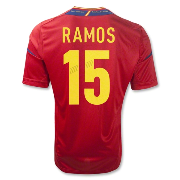 Spain 11/13 RAMOS Home Soccer Jersey