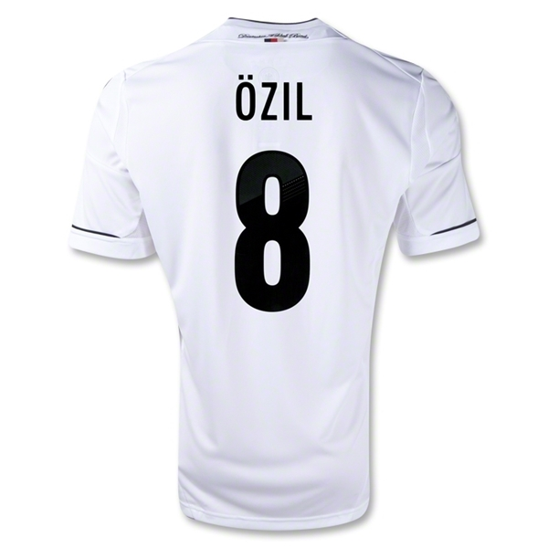 Germany 11/13 OZIL Home Soccer Jersey