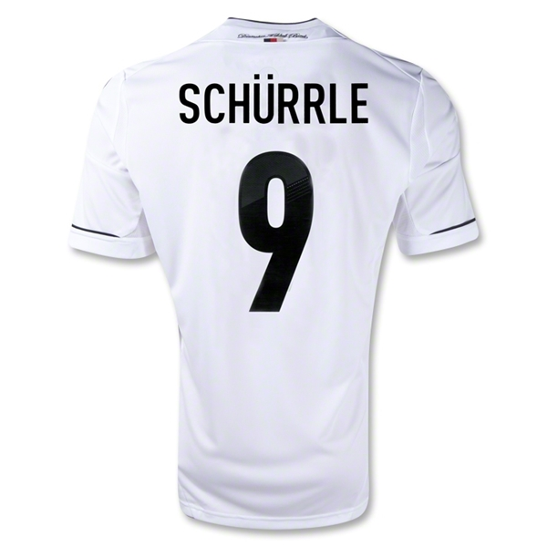 Germany 11/13 SCHURRLE Home Soccer Jersey