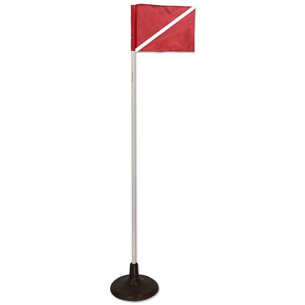 Jumbo Rubber Base with Corner Flag