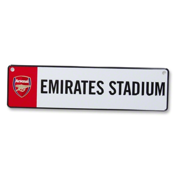 Arsenal 3D Stadium Window Sign