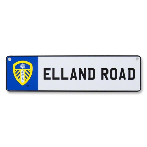 Leeds United 3D Stadium Window Sign