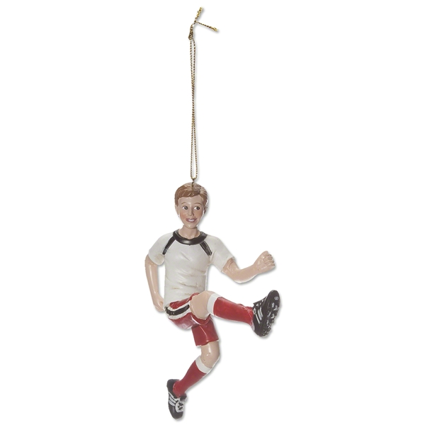 Soccer Boy Holiday Ornament