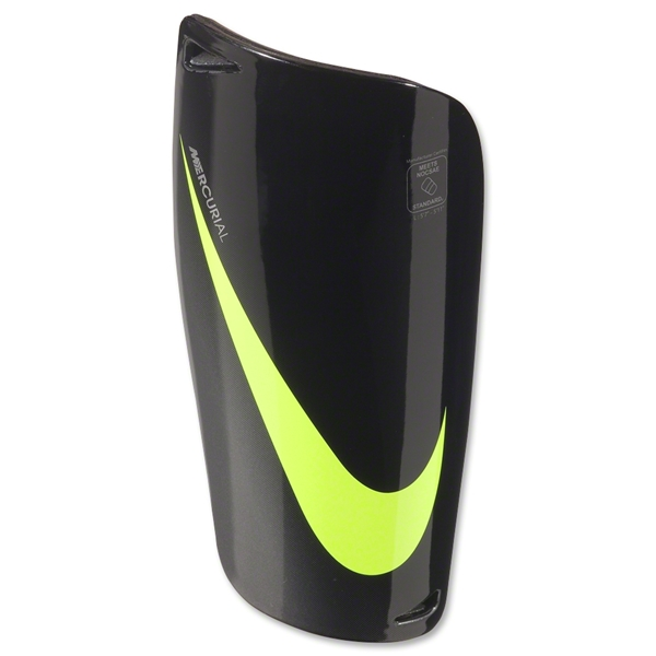 Nike Mercurial Lite Shinguard (Black/Yellow)