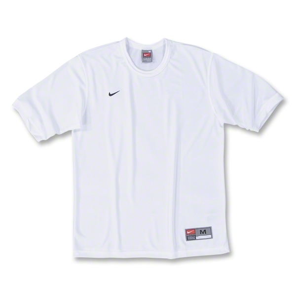 Nike Tiempo Soccer Jersey (Wh/Bk)