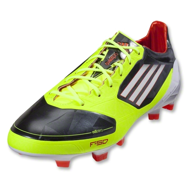 adidas F50 adizero TRX FG Synthetic Cleats (Phantom/White/Electricity)
