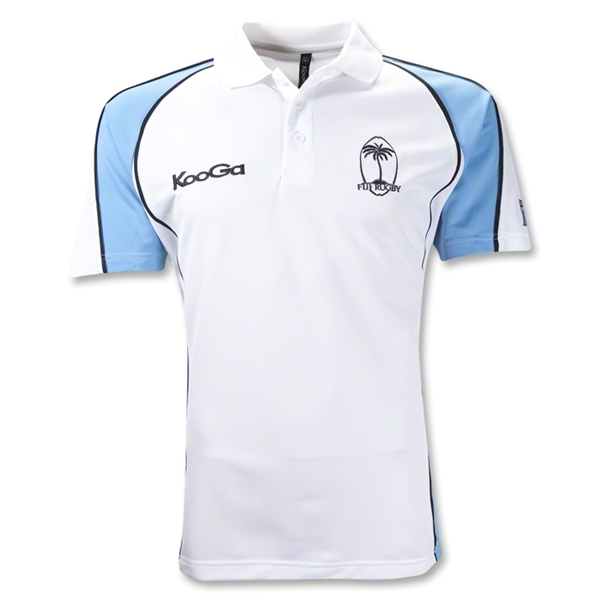 Fiji Supporter Flag SS Polo