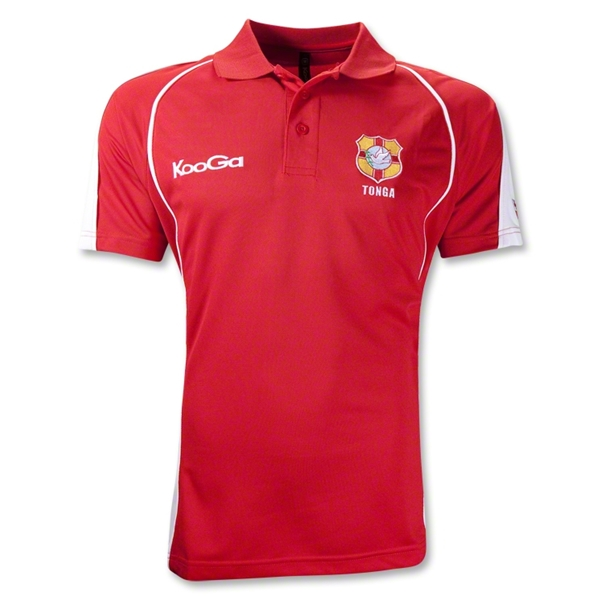 Tonga Supporter Flag SS Polo