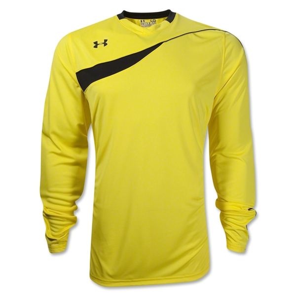 Under Armour Horizontal LS Goalkeeper Jersey (Yellow)