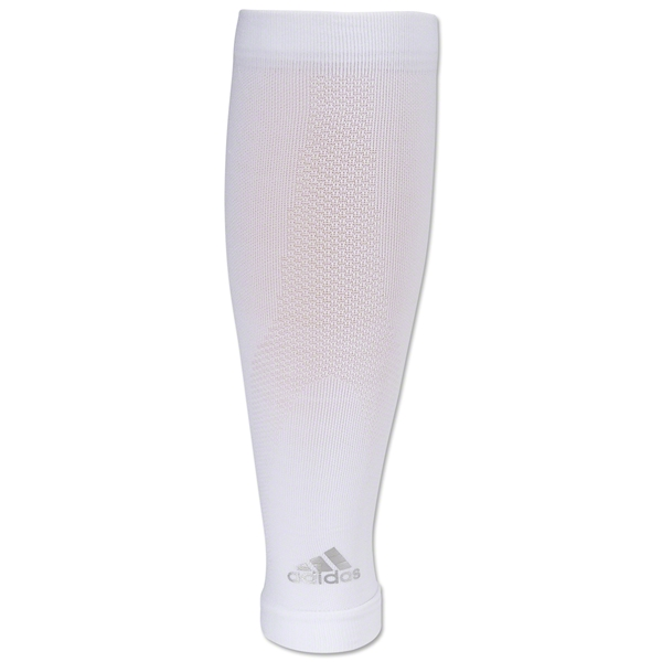 adidas Recovery Calf Sleeve (White)
