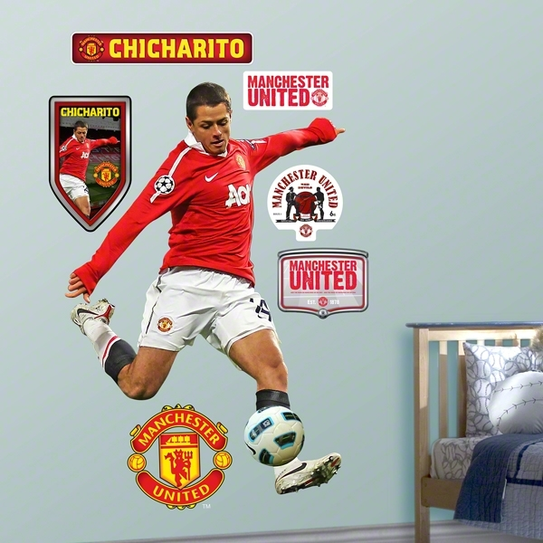 Manchester United Chicarito FatHead Wall Graphic
