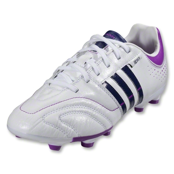 adidas 11Nova TRX FG Women's Cleats (White/Night Sky/Ultra Purple)