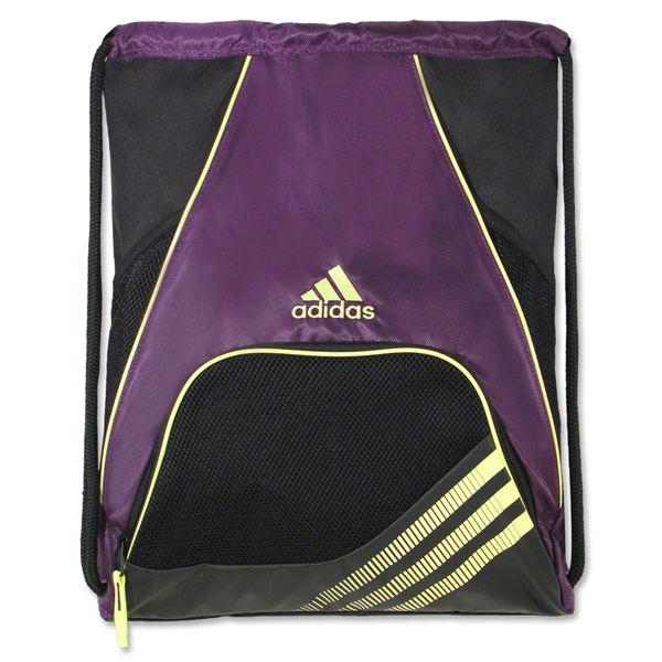 adidas Team Speed Sackpack (Purple/Yellow)