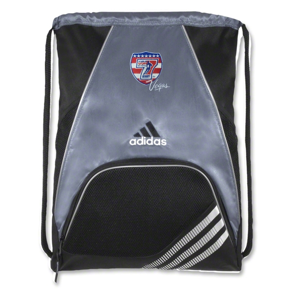 adidas USA Sevens Team Sackpack (Gray)