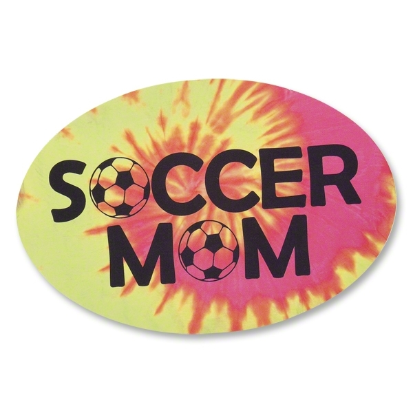 Soccer Mom Tie-Dye Decal