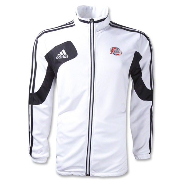 adidas Las Vegas Invitational Condivo 12 Training Jacket (White/Black)