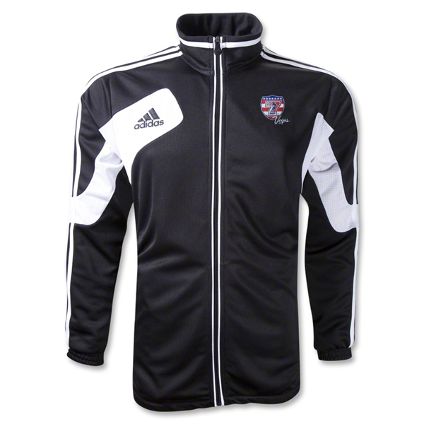 adidas USA Sevens Condivo 12 Training Jacket (Black/White)