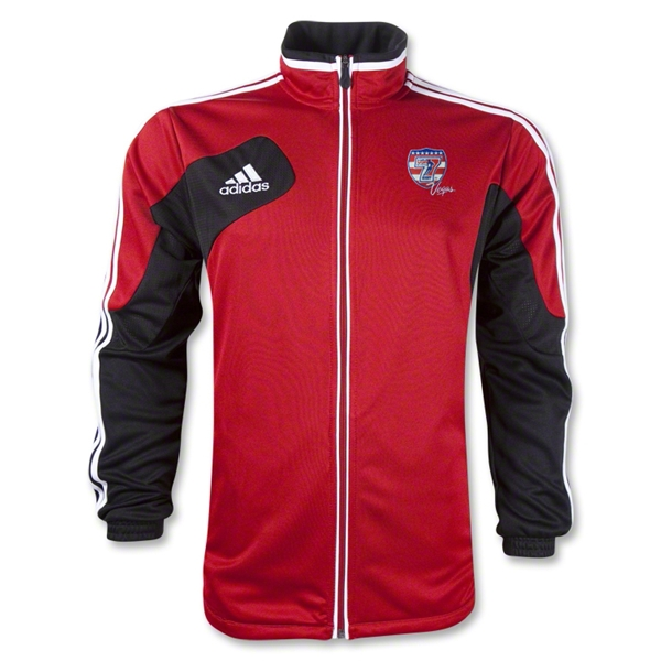 adidas USA Sevens Condivo 12 Training Jacket (Red/Black)